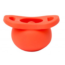 Tobbie & Co Pop Pacifier - Corally Yours - Front View