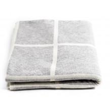 Tobbie & Co Premium Organic Cotton Blanket - Light Grey