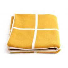 Tobbie & Co Premium Organic Cotton Blanket - Mustard
