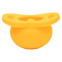 Tobbie & Co Pop Pacifier - Chin Up, Buttercup - Front View