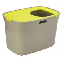 McMac Top Cat Litter Box - Lemon Yellow