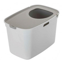 McMac Top Cat Litter Box - Warm Grey