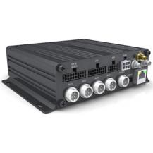 4 Chanel AHD 720P Analog Dual Signal HDD Mobile DVR - 3G / GPS / G-Sensor