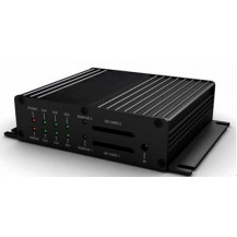 Top CCTV 4 Chanel Full D1 SD Card Mobile DVR - 3G / GPS / G-Sensor