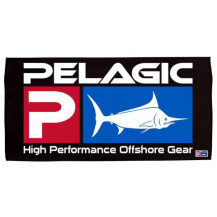 Pelagic Deluxe Logo Towel - Black