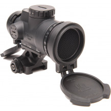 Trijicon 1x25 MRO Patrol 2.0 MOA Adjustable Red Dot Sight - Full Co-Witness Quick Release Mount
