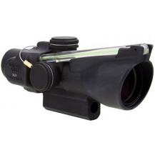Trijicon 3x24 Compact ACOG Scope - Dual Illuminated, Green Horseshoe Dot .223 / 55gr. Ballistic Reticle