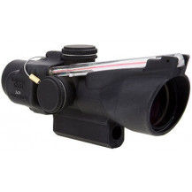 Trijicon 3x24 Compact ACOG Scope -Low Height, Dual Illuminated, Red Crosshair .223 / 55gr. Ballistic Reticle