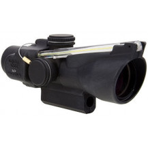 Trijicon 3x24 Compact ACOG Scope - Dual Illuminated, Amber Horseshoe Dot .223 / 55gr. Ballistic Reticle