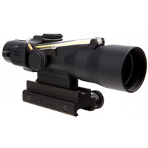 Trijicon 3x30 Compact ACOG Scope - Dual Illuminated, Amber Horseshoe Dot 7.62x39mm/123gr. Ballistic Reticle