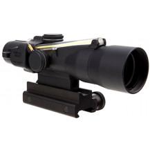 Trijicon 3x30 Compact ACOG Scope - Dual Illuminated, Amber Crosshair 300BLK 115/220gr. Ballistic Reticle