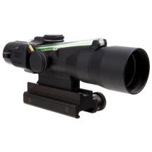 Trijicon 3x30 Compact ACOG Scope - Dual Illuminated, Green Crosshair 300BLK 115/220gr. Ballistic Reticle