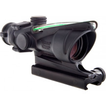 Trijicon ACOG 4x32 Scope - Dual Illuminated, Green Chevron M193 Reticle