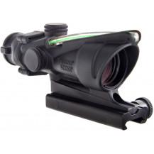Trijicon ACOG 4x32 Scope - Dual Illuminated, Green Crosshair .223 Ballistic Reticle, Cerakote Sniper Grey