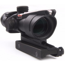 Trijicon ACOG 4x32 Scope - Dual Illuminated, Red Crosshair 300 BLK Reticle