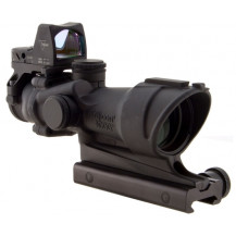 Trijicon ACOG 6x48  ECOS Scope - Center Illuminated, Amber Crosshair Reticle