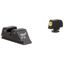 Trijicon HD XR Glock Night Sight Set - MOS Fit Rear, Yellow Front Outline