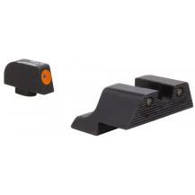 Trijicon HD XR Glock Night Sight Set - Orange Front Outline