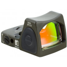Trijicon RMR Type 2 Adjustable LED Sight - 3.25 MOA Red Dot, Cerakote OD Green
