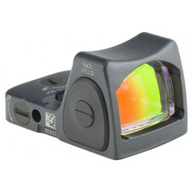 Trijicon RMR Type 2 Adjustable LED Sight  - 6.5 MOA Red Dot, Cerakote Sniper Grey