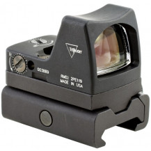 Trijicon RMR Type 2 LED Sight w- RM34W Weaver Rail Mount - 6.5 MOA Red Dot