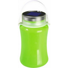 UltraTec SLS Silicone Solar LED Lantern & Storage Container - Green