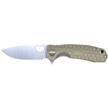 Ultratec Honey Badger Large Folding Knife - Tan