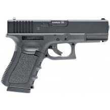 Umarex Glock 19 CO2 Air Pistol - 4.5mm, Black