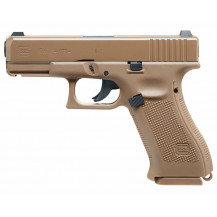 Umarex Glock 19 CO2 Air Pistol - 4.5mm, Tan