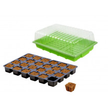 Buy the Eazy Plug Propagator Set - Propagator Tray, Transparent Pet Lid, Eazy Plug Tray featuring transparent pet lid, reservoir tray, support platform and more. Review Eazy.