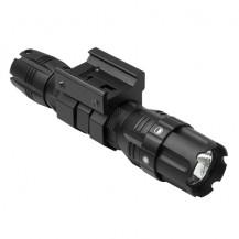 NcStar ProSeries Green LED Hunter Flashlight & Mount