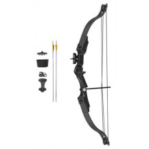 Velocity Archery Rush Youth Compound Bow Kit - Black