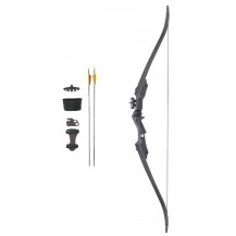 Velocity Archery Stampede Youth Recurve Bow Kit - Black