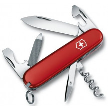 Victorinox Sportsman Swiss Army Knife - Red, 84mm