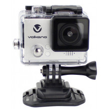 Volkano Lifecam Plus Series Action Camera - 720p, 1.3MP Camera , Silver