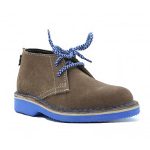 Veldskoen Kids Eddie The Elephant Shoe - Blue Sole, UK Size 3