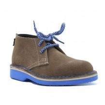 Veldskoen Kids Eddie The Elephant Shoe - Blue Sole, UK Size 5