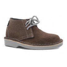 Veldskoen Kids Robbie The Rhino Shoe - Grey Sole, UK Size 4