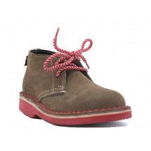Veldskoen Kids Logan The Lion Shoe - Red Sole, UK Size 2