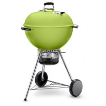 "Weber Master-Touch GBS Charcoal Braai - 22"", Spring Green"