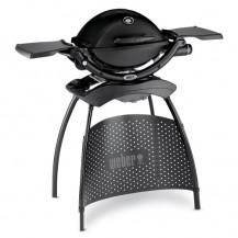 Weber Q1200 Gas Braai & Stand - Black