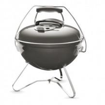 Weber Smokey Joe Premium Charcoal Braai - 37cm, Warm Grey