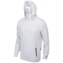 Pelagic Exo-Tech Hooded Fishing Shirt - White