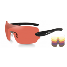 Wiley X DETECTION 5 Lens Package Clear/Yellow/Orange/ Purple/Copper Matte - Front View