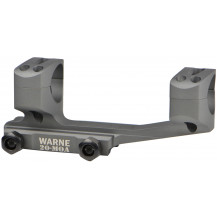 Warne 20MOA Extended Skeleton 34mm MSR Mount - Tactical Grey