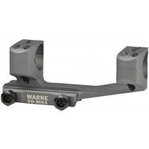 Warne 20MOA Extended Skeleton MSR Mount - 1in, Tactical Grey