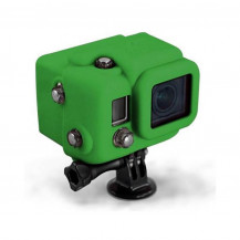 Xsories Hooded Silicon Cover for Hero3 - Green