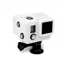 Xsories Hooded Silicon Cover for Hero3 - White