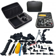 Xtreme Xccessories 55 in 1 Combo Starter Accessory Bundle Kit For GoPro And Action Cameras