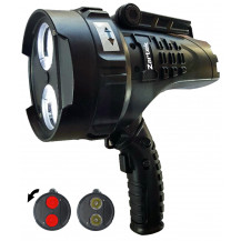 Zartek Mega Bright Spotlight 2200 lm - Clear/Red Lens
